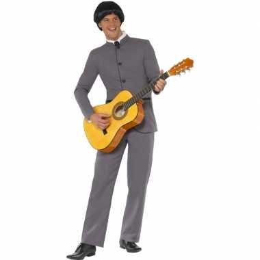 Beatles kleding grijs