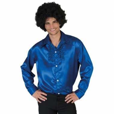 Blauwe disco kleding heren