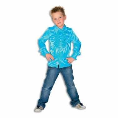 Blauwe disco kleding jongens