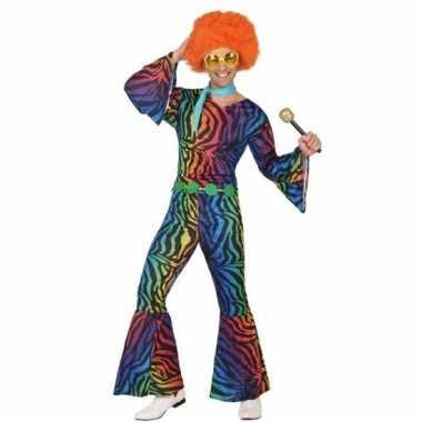 Carnavalskleding jaren 70 disco heren