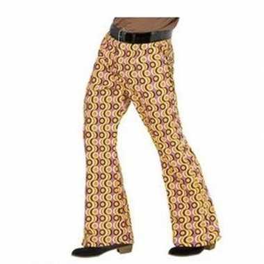 Groovy pantalon jaren 70 stijl heren