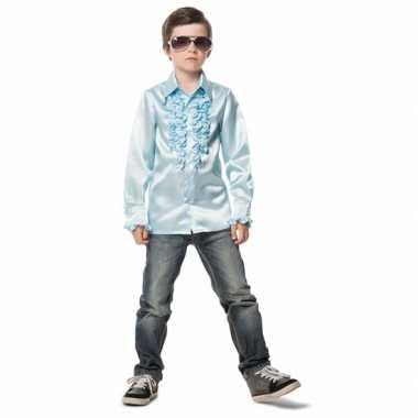 Lichtblauwe disco kleding jongens