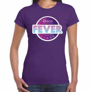 Party 70s/80s/90s feest shirt disco thema dames