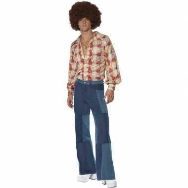 Patchwork jaren 70 kleding heren