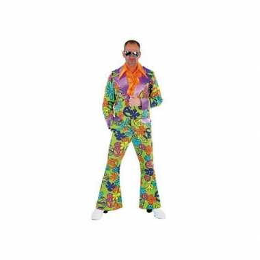 Peace Disco verkleedkleding heren