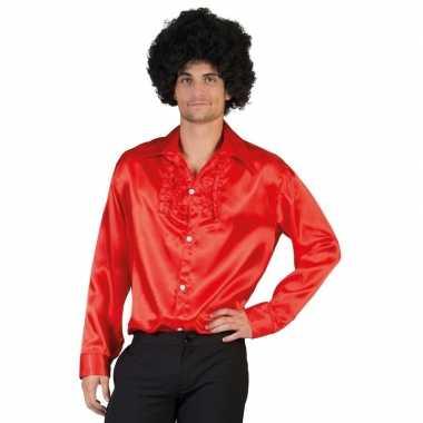 Rode disco kleding heren