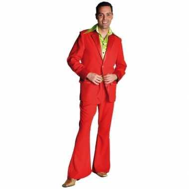 Rode verkleed kleding jaren 70