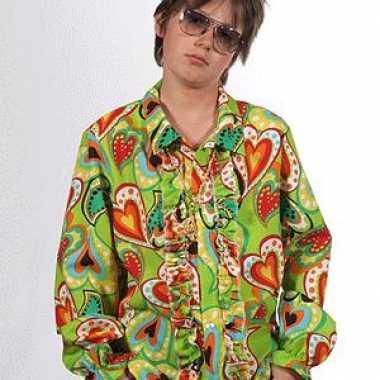 Rouche hippie kleding hartjes kids