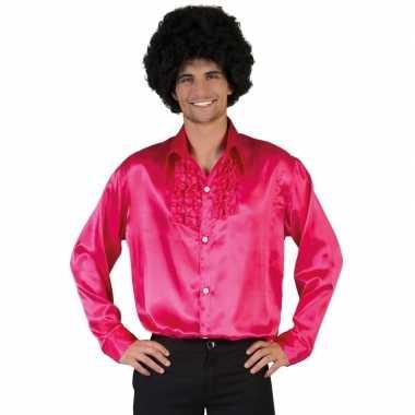 Roze disco kleding heren