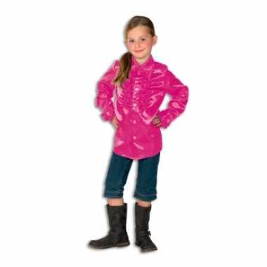 Roze disco kleding meisjes