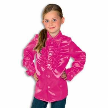 Roze disco kleding rouches kleding roze jongens