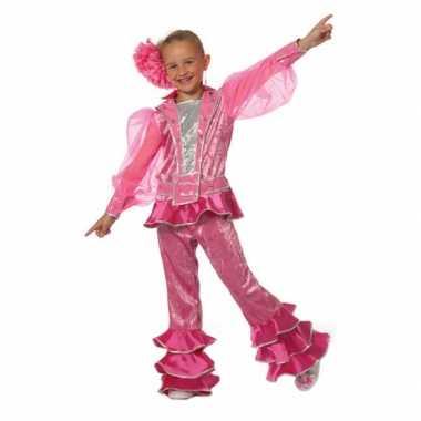 Roze discokleding kinderen