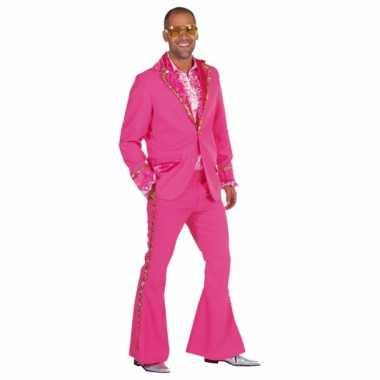 Roze seventies kledingken mannen