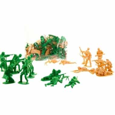 Speelgoed poppetjes soldaten 6cm