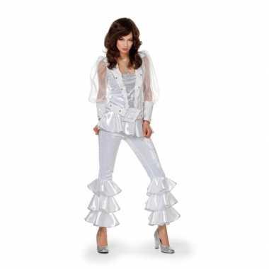 Wit disco kleding dames