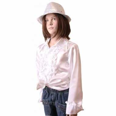 Witte disco kleding meisjes