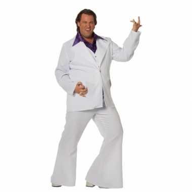 Witte verkleed kleding heren grote maat