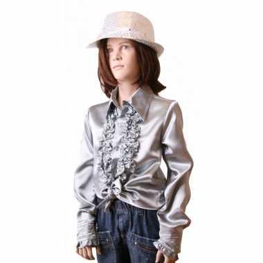 Zilveren disco kleding meisjes