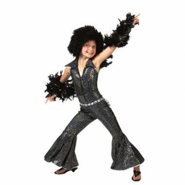 Zwart disco kleding kinderen