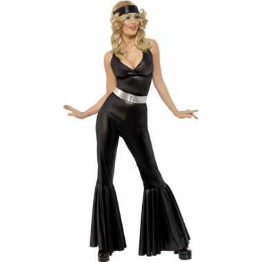 Zwarte disco catkleding dames