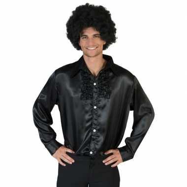 Zwarte disco kleding heren