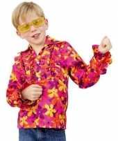 Gekleurde disco kleding kinderen