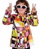 Hippie kinder kleding gekleurd