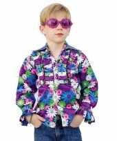 Kinder seventies kleding bloemen